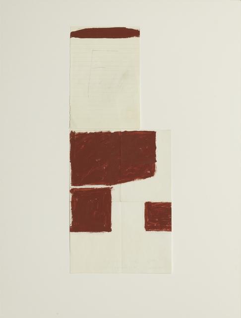 , 'Das F - Anordnung zweier Energiegrößen,' 1970, Galerie Ruberl