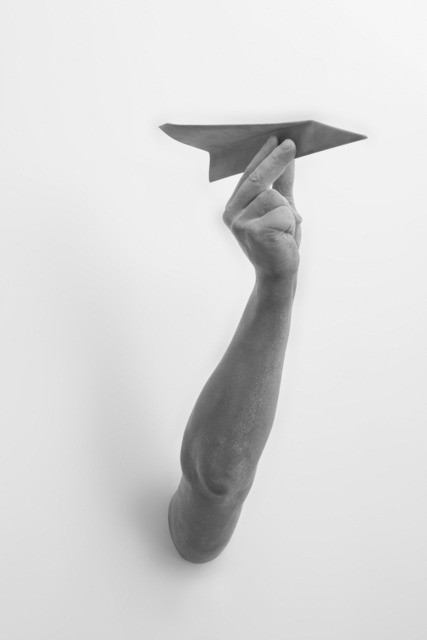, 'Gesture (Paper Plane),' 2014, Galerie Ron Mandos