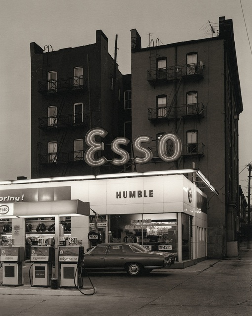 , 'Esso Station and Tenement House, Hoboken, New Jersey,' 1972, Afterimage Gallery