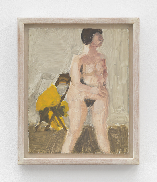 Fairfield Porter, 'Untitled [standing nude]', Betty Cuningham