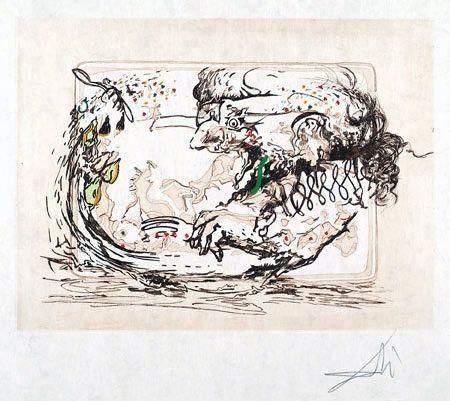 Salvador Dalí, 'La télévision (The Television)', 1966, Puccio Fine Art