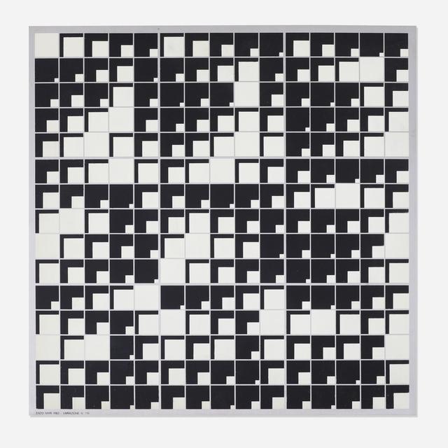 Enzo Mari, 'Variazione 719', 1963, Wright