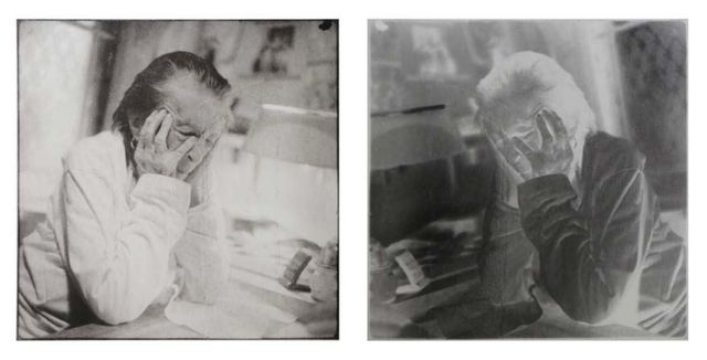 , 'Louise Bourgeois, New York, 20th St.  Double Exposure Diptych,' France-2006, Maison Gerard