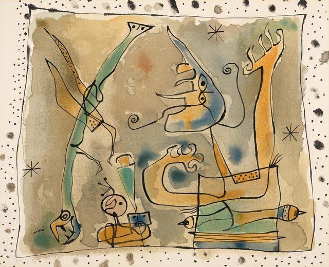 Joan Miró, 'Après l'Orage', 1957, Koller Auctions