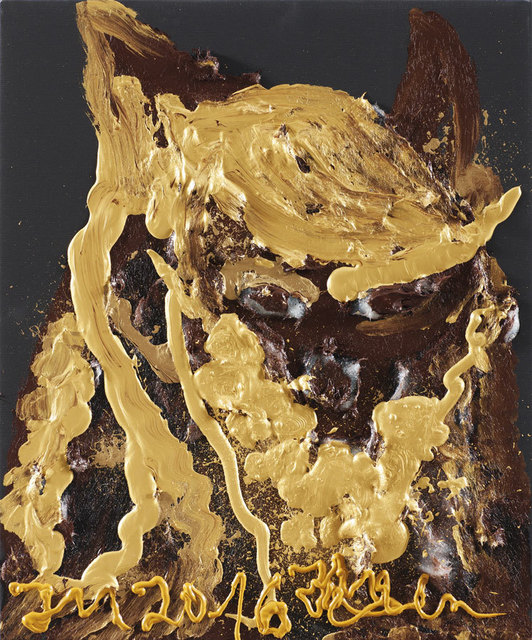 , '''BIENE DE GNU'',' 2016, Galleri Bo Bjerggaard