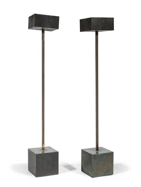 Robert Graham, 'Pair of Unique Standing Lamps', circa 1983, Heritage Auctions