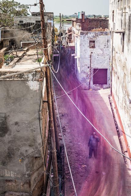 , 'vrindavan flow,' 2014, e.artis contemporary