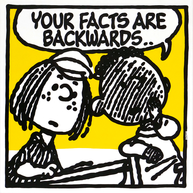 , 'Facts (Nas),' 2018, Spoke Art