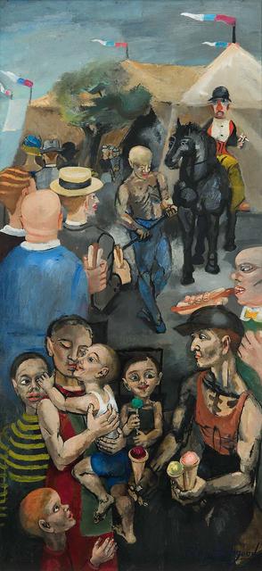 , 'Outside the Tent,' 1942, Michael Rosenfeld Gallery