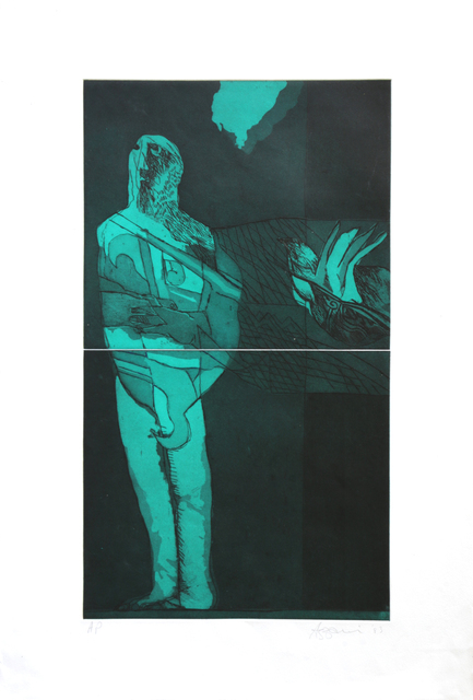 Dia Azzawi, 'Untitled', 1983, Artscoops