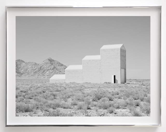 , 'Air Force Target Grid Building 4 (4259_09),' 2014, Haines Gallery