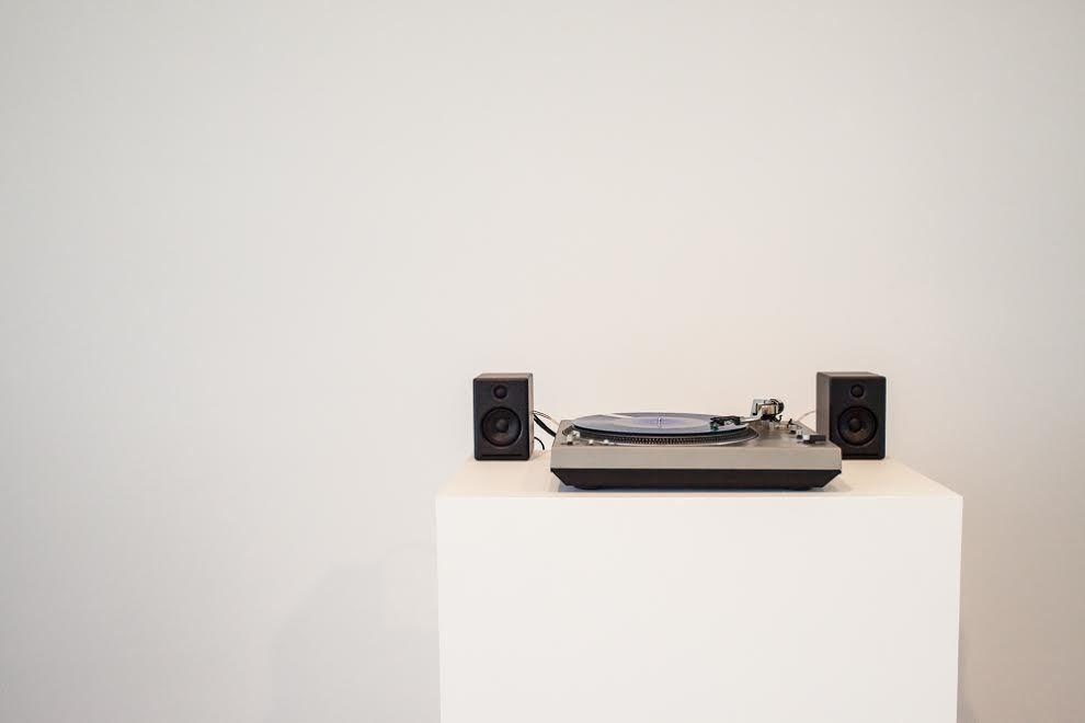 Untitled (Now, record), 2015. Photo: Jennifer Boomer