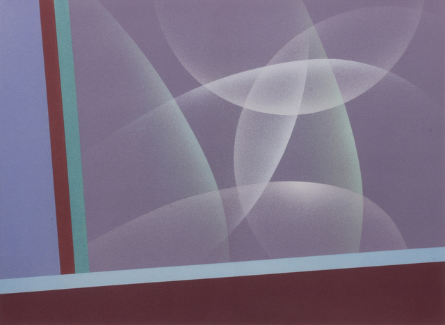 Raymond Jonson, 'Watercolor No.8, 1948 - Sequence-A Trilogy, First Vista ', Painting, Watercolor on paper, Addison Rowe Gallery