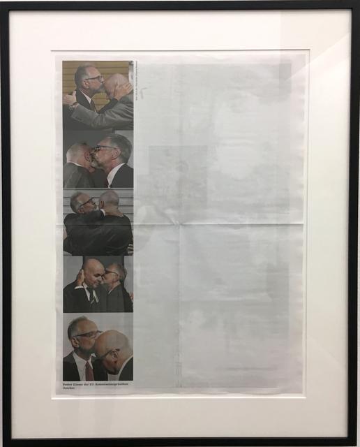 , 'Best kisser in the EU: President of the EU Commission Juncker,' 2016, Christine König Galerie