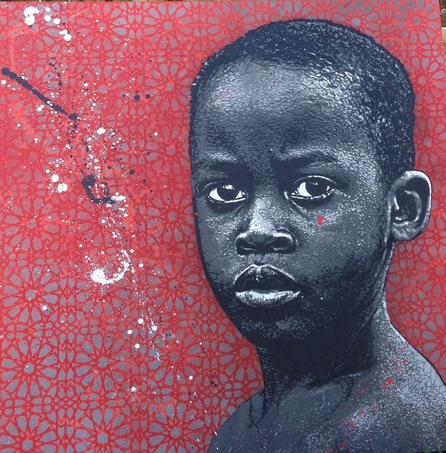 Jef Aérosol, 'Young boy ', 2015, Galerie Martine Ehmer