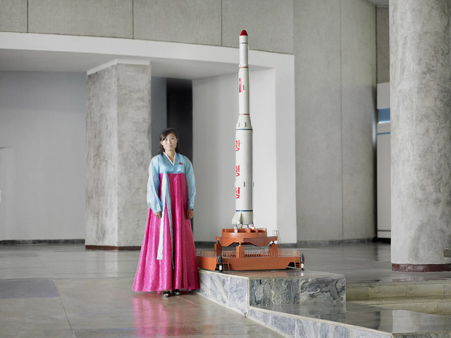 , 'Brilliant Star Rocket (Three Revolutions Exhibition, Pyongyang),' 2017, The Ravestijn Gallery