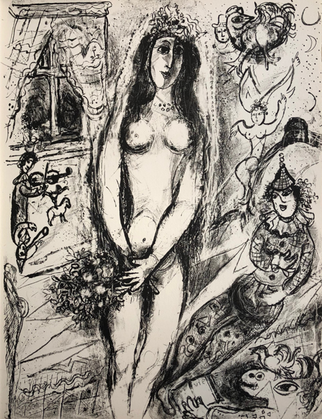 Marc Chagall, 'Le Cirque M. 520', 1967, Print, Original lithograph printed on Velin d'Arches wove paper, Galerie d'Orsay