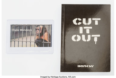 Cut It Out. booklet, and The Village Pet Store, business card