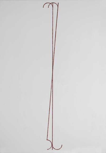 , 'Georgian Letter (ჯ),' 2013, Galerie Buchholz