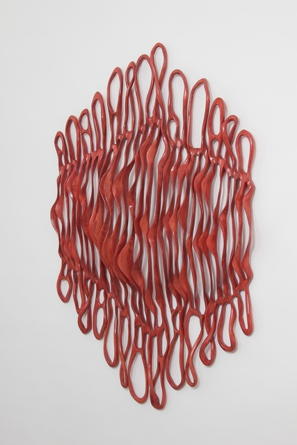 , 'Red Dawn Cascade V,' 2016, Diehl Gallery