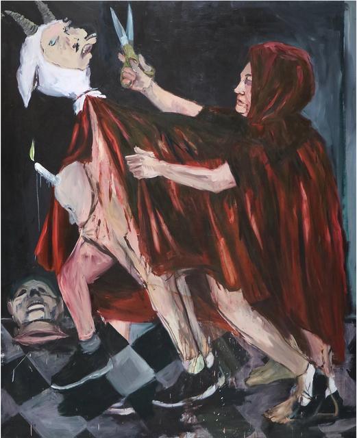 , 'Tesoura [Scissors],' 2017, Casa Triângulo