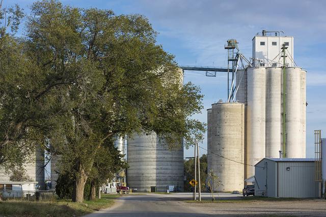 , 'Elevators and Tree, Junction City, KS,' , Soho Photo Gallery