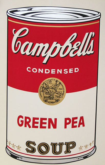 Andy Warhol, 'Campbell's Soup I, II.50 Green Pea ', 1968, Elizabeth Clement Fine Art