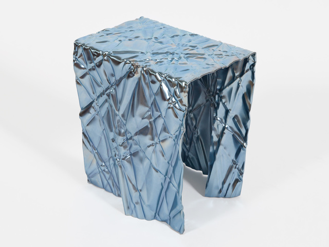 Christopher Prinz, 'Wrinkled Stool', 2018, Patrick Parrish Gallery