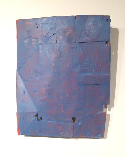 , 'Armour Series: Blue,' 2015, Lesley Heller Workspace