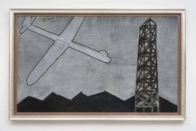 , 'Airplane and Tower,' 2013, Kayne Griffin Corcoran