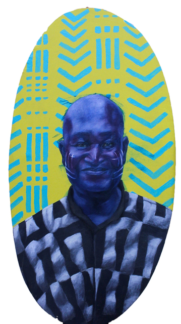 , 'Foreign Smile (David),' 2017, Conduit Gallery