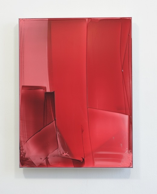 , 'Red Composition for Miami,' 2016, Renate Bender