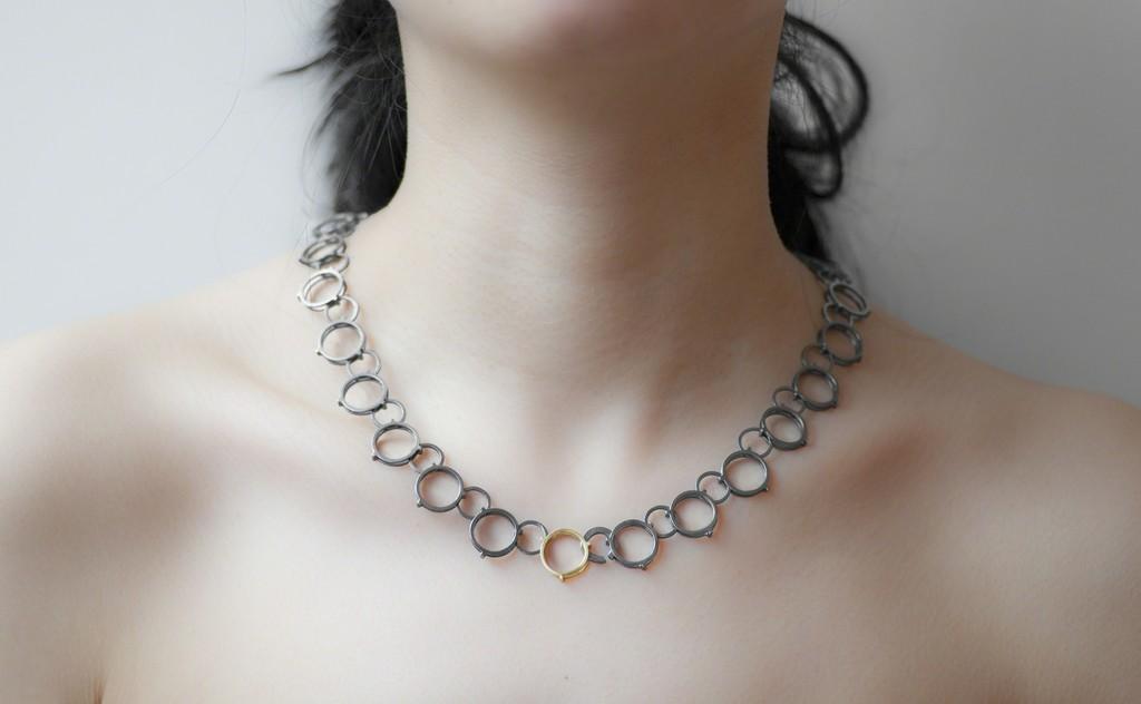 Entrapment Necklace by Michele Mercaldo