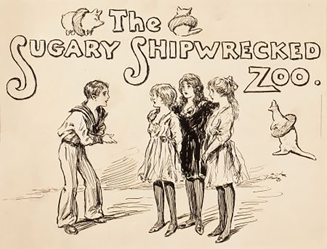 Reginald Bathurst Birch, 'The Sugary Shipwrecked Zoo', Early 1900s, The Illustrated Gallery