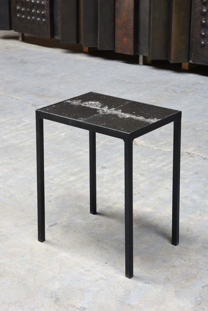 ", '""Volvic Noire"" side table,' 1966, Magen H Gallery"
