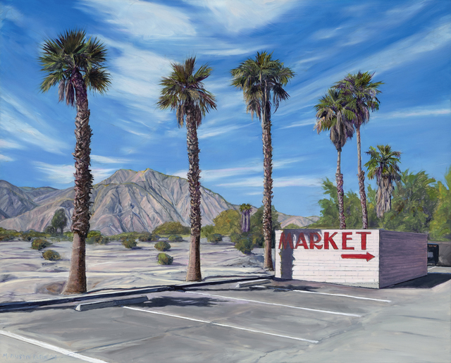 , 'Center Market, Borrego Springs,' 2018, Sue Greenwood Fine Art