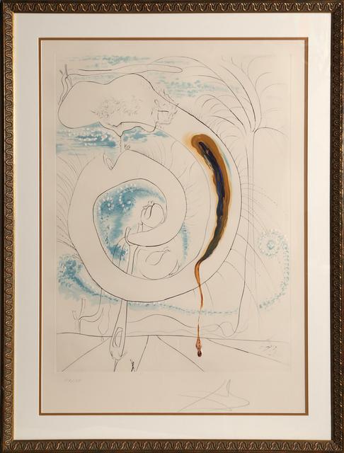 Salvador Dalí, 'Le cercle visceral du Cosmos from La Conquete du Cosmos', 1974, RoGallery