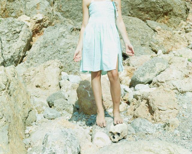 "Jorge Fuembuena, '""Girl with skull""', 2018, Galerie Frey"
