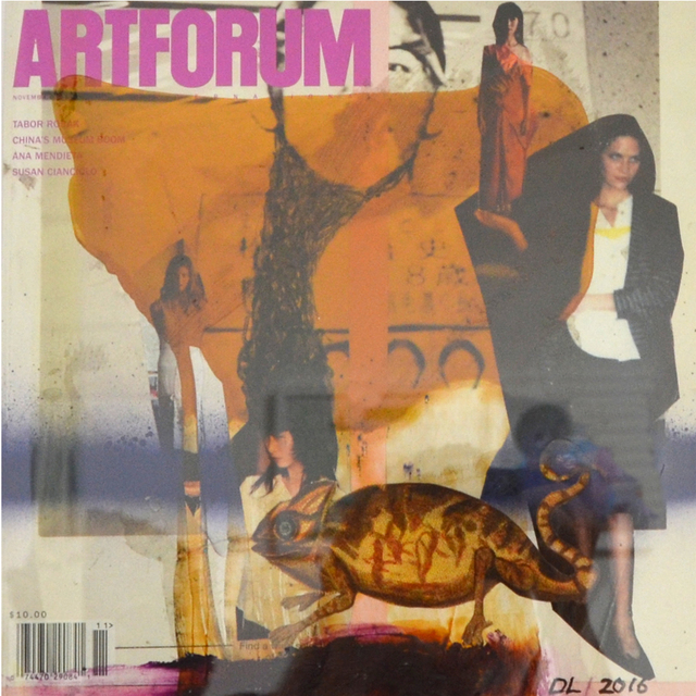, 'Altered Artforum #11,' 2016, Klowden Mann