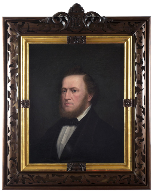 , 'Brigham Young,' 1865, Anthony's Fine Art