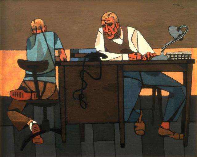 Robert Gwathmey, 'Like Son', 1948, Forum Gallery