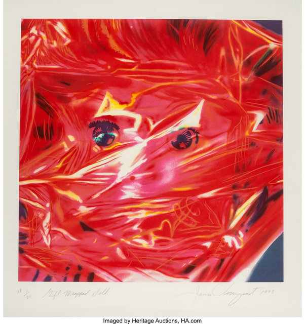 James Rosenquist, 'Gift Wrapped Doll', 1993, Heritage Auctions