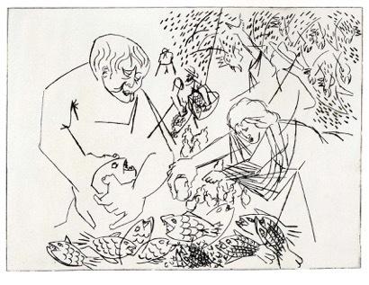 , 'Fish Market,' 1969, Sragow Gallery
