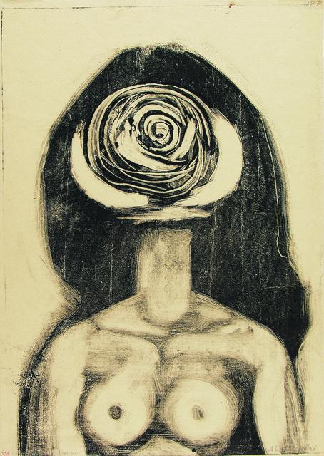 , 'Bust (Woman-Rose),' 1957, Galerie Isabella Czarnowska