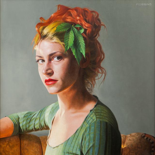 Nadine Robbins, 'Sativa Sunrise', 2016, Painting, Oil on canvas, Bernay Fine Art