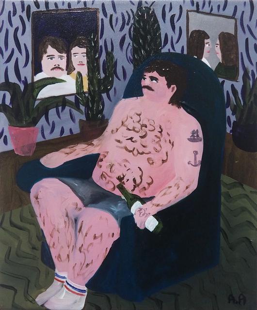 , 'Man In A Chair,' 2018, Kristin Hjellegjerde Gallery