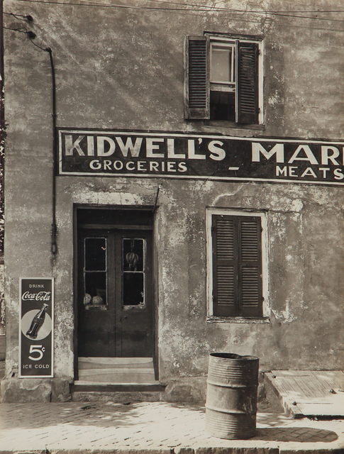 , 'Untitled (Kidwell's Market, Leesburg, VA),' 1930-1943, L. Parker Stephenson Photographs
