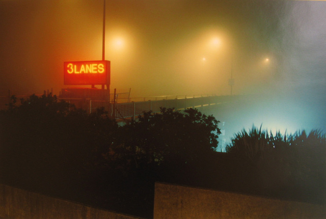 William Farley, 'Three Lanes Sign, 3:00 AM @ South End of the Golden Gate Bridge, San Francisco, CA', 2008, Dolby Chadwick Gallery