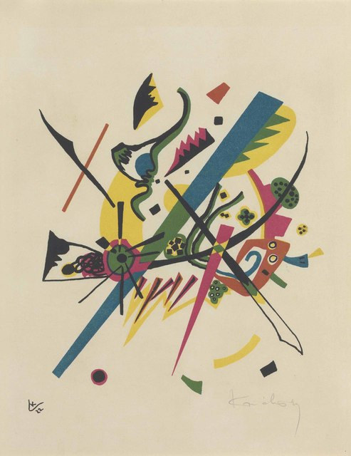 Wassily Kandinsky, 'Kleine Welten I', 1922, Print, Lithograph in colors, on Japon paper, Christie's