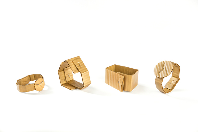 , 'Cardboard bracelets,' 2015, Ornamentum